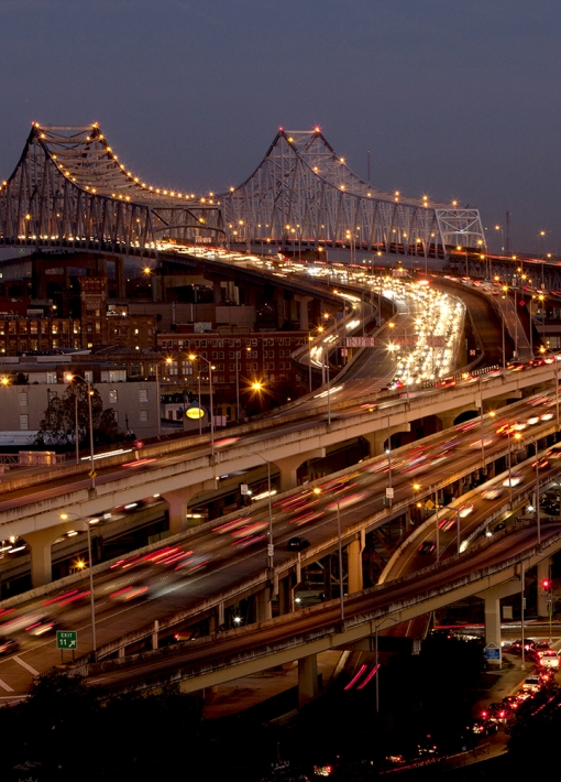 """Bridging the Mississippi"" | Philip Gould"