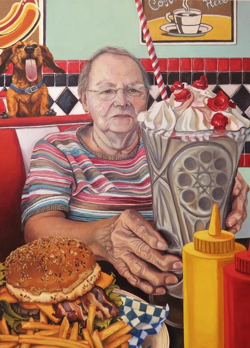 """""""Playfully Serious""""   Kerra Taylor Jonathan Ferrara Gallery"""