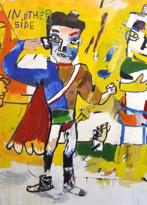 """""""Gallery Premiere, New Paintings""""   Starsky Brines"""