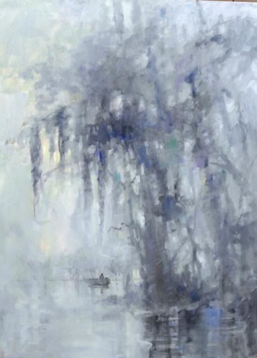 """Bayou Bravura"" | Carol Hallock"