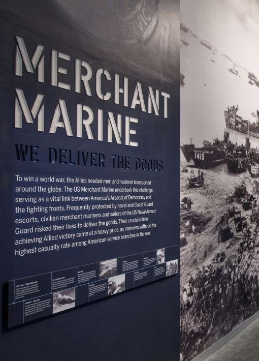 """US Merchant Marine Gallery: Ralph E. Crump, LTJG, USNR"""
