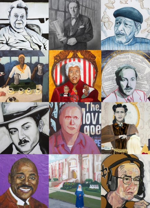 """""""300 for 300: The people who make New Orleans, New Orleans""""   Group Exhibition"""