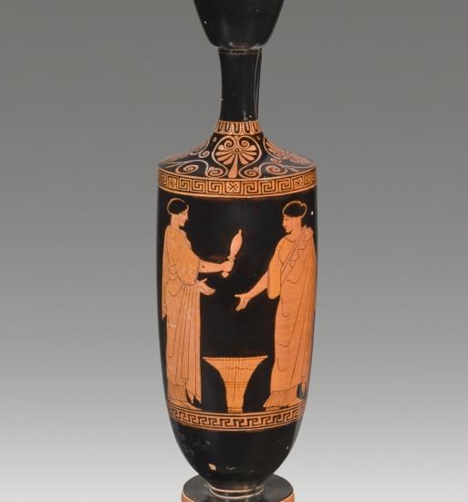 Attic Red-Figure Lekythos