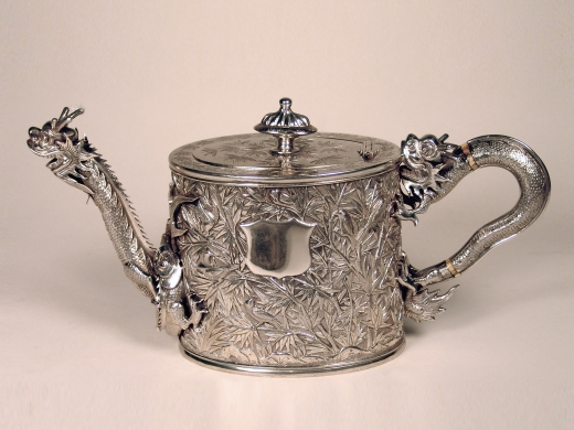 Export Porcelain, China Trade Objects & Paintings, Export Silver