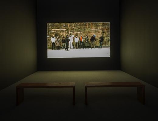 John Bock, Keren Cytter, Paul Pfeiffer, Gillian Wearing, and Akram Zaatari