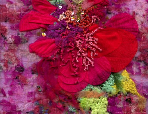 THE HOUSE OF LOUDA: Post-Couture Textile Paintings and Revamped Umbrella Dress Sculptures