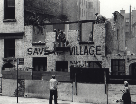 Fred W. McDarrah: Save the Village