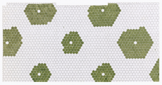 Julia Fish, First plan for floor [ floret ] — section four