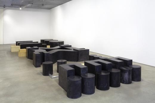 Installation Image:, Barry Le Va: Network