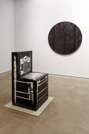 Project Room: About Wood   Artschwager/Herold/McEwen