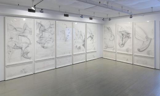 Installation View: Jorinde Voigt