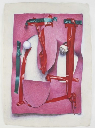 Neil Gall Pink Cut-Out