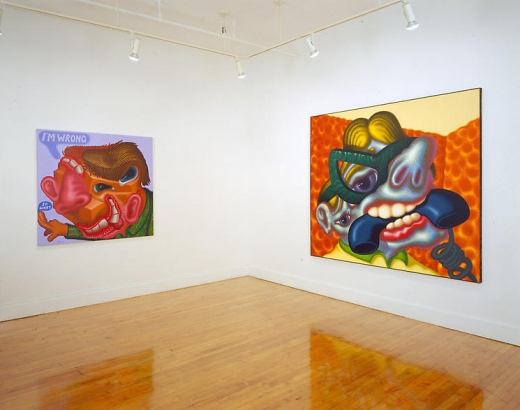 Peter Saul: Heads