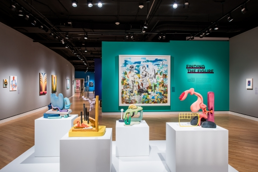 The Beyond: Georgie O'Keefe and Contemporary Art, Crystal Bridges, Bentonville, AR, 2018, installation view
