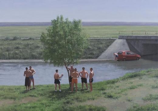 Serban Savu The Bathers