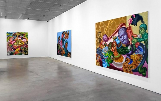 Peter Saul New Paintings