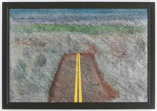 Richard Artschwager Landscape with Median