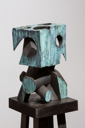 Mel Kendrick Untitled (Green Block)