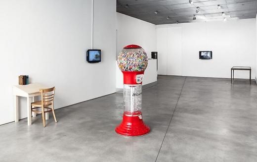 Installation view: Ciprian Mureşan