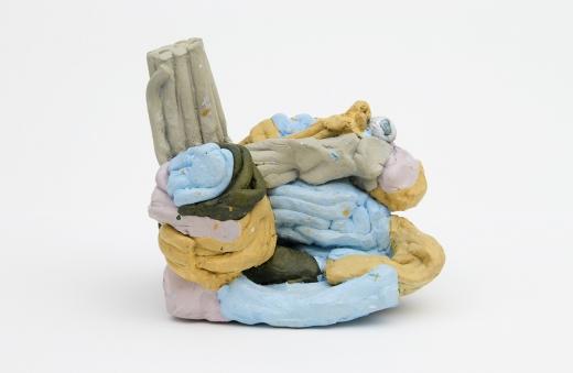 Neil Gall Blind Sculpture (Dinosaur Act)