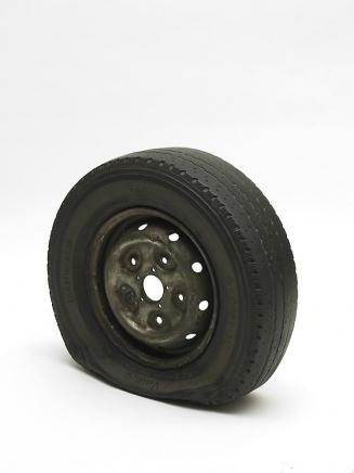 Gavin Turk Flat Tyre