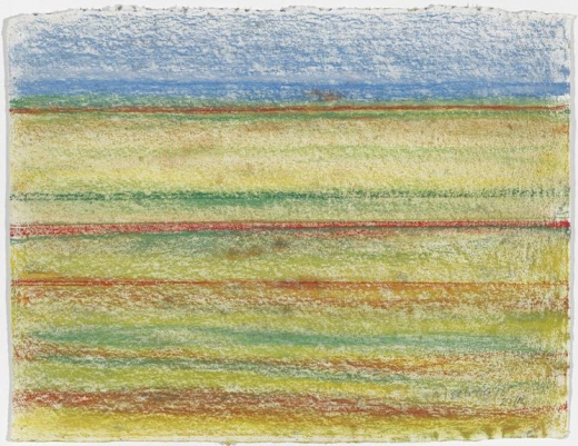 Richard Artschwager Striped Landscape