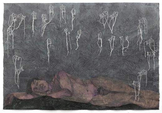 Felipe Baeza, Ahuehuete Dormido