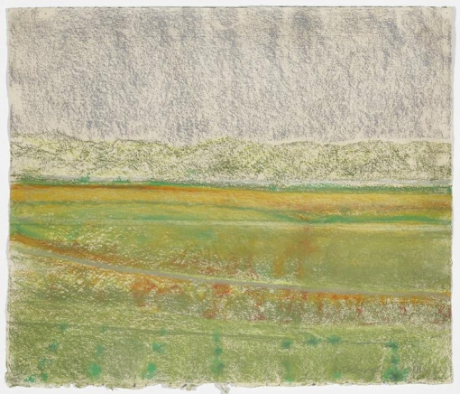 Richard Artschwager Landscape with Grey Sky