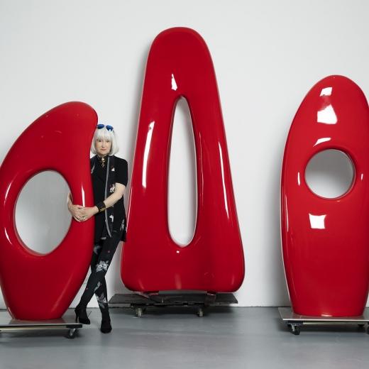 Mia Fonssagrives Solow : Sculpture Retrospective