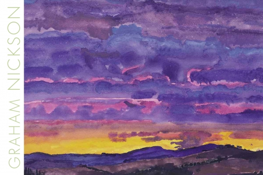 Catalogue Cover: Graham Nickson: Italian Skies, May 2009