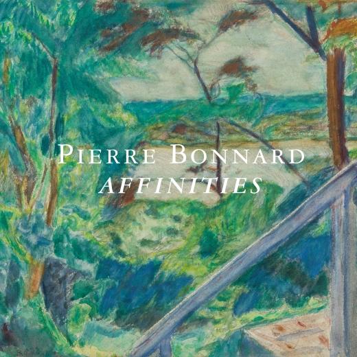Catalogue Cover: Pierre Bonnard: Affinities, March 2018