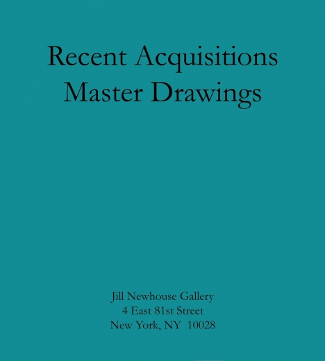 Catalogue Cover: Recent Acquisitions of Master Drawings, January 2016