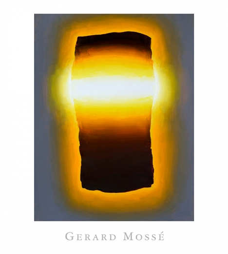 Catalogue Cover: Gerard Mossé: New Work, May 2016