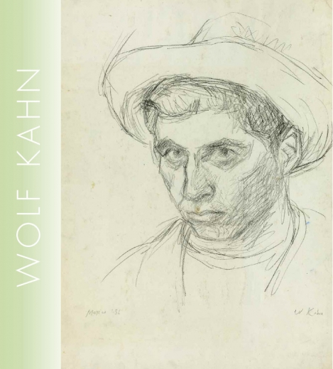 Catalogue Cover: Wolf Kahn: Early Drawings, November 2009