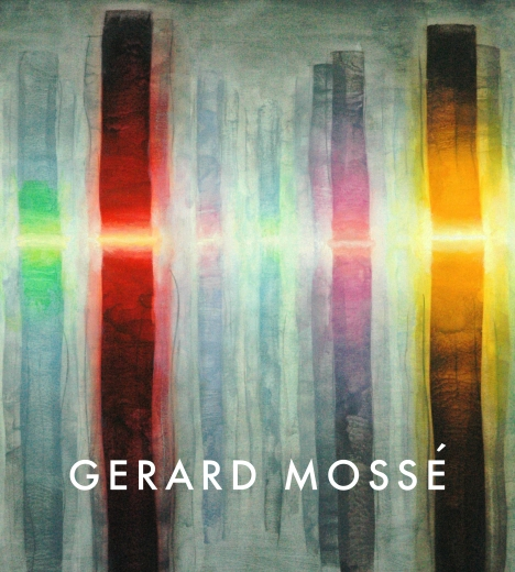 Catalogue Cover: Gerard Mossé: Paintings on Paper 2008-2013, May 2013