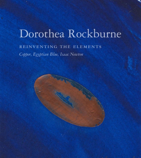 Catalogue Cover: Dorothea Rockburne: Reinventing the Elements, September 2013