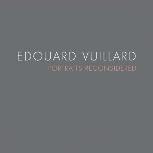 Cataloge Cover: Edouard Vuillard: Portraits Reconsidered, April 2012