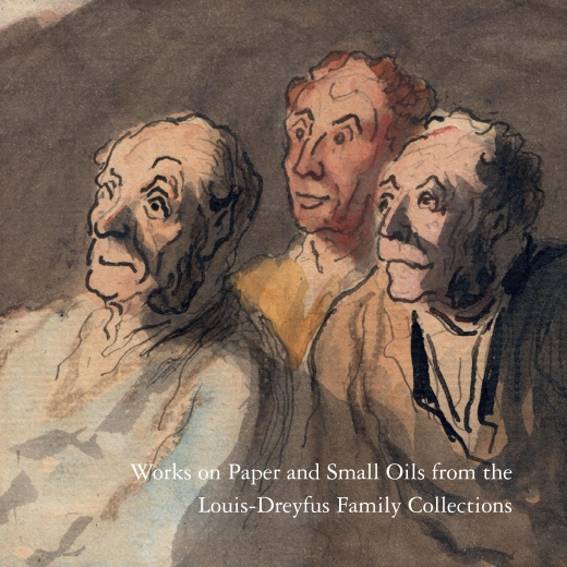 Catalogue Cover: Works on Paper and Small Oils from the Louis-Dreyfus Family Collections, May 2019