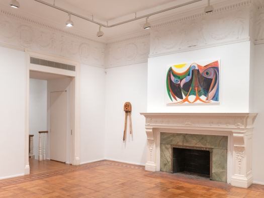 This is an image of artworks by John Outterbridge and Antone Könst.