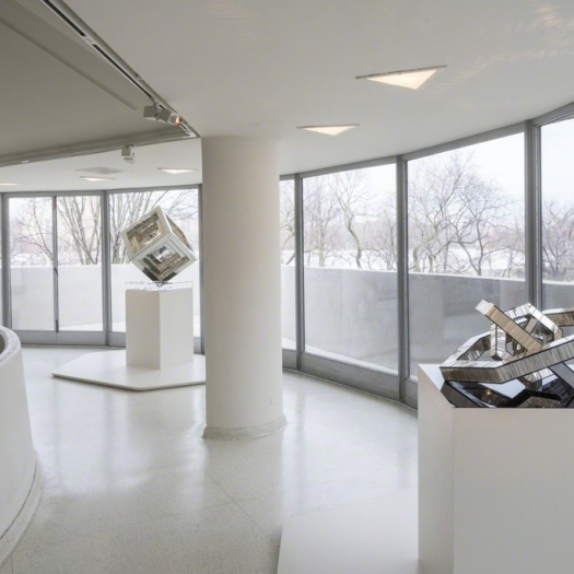 Monir Shahroudy Farmanfarmaian at the Solomon R. Guggenheim Museum