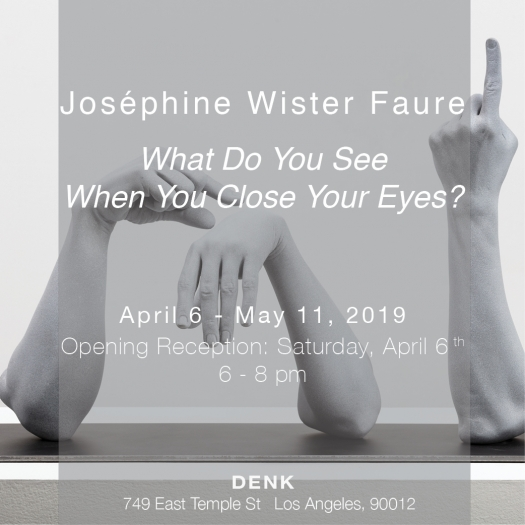 Joséphine Wister Faure, What Do You See When You Close Your Eyes?