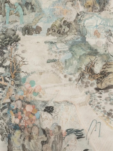 Yun-Fei Ji at the Frances Young Tang Museum and Art Gallery