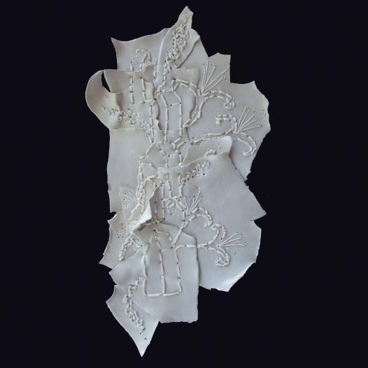 Floriographs - Sewn Ceramics