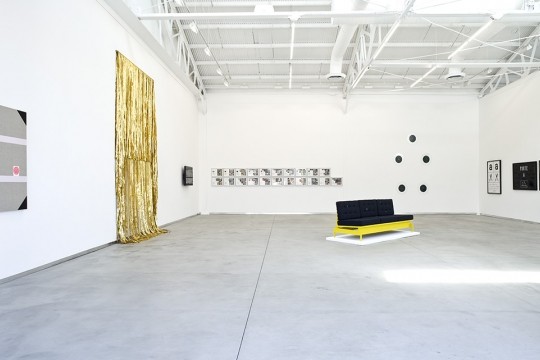 James Lee Byars, Marcel Broodthaers, Matthew Brannon, William E. Jones