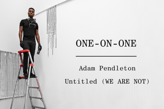 One-on-One: Adam Pendleton