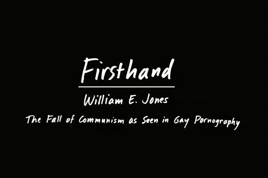 Firsthand: William E. Jones