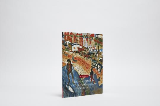 XIX & XX Century Master Paintings & Sculptures Catalogue Cover
