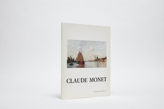 Claude Monet Catalogue Cover