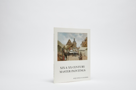 Spring 1981 XIX & XX Century Master Paintings Catalogue Cover