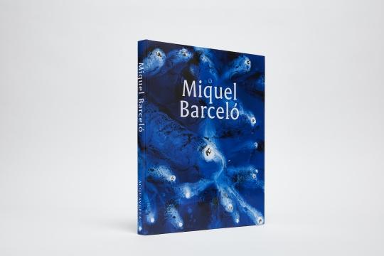 Miquel Barceló catalogue cover (blue)